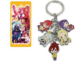 No Game No Life Keychain Characters