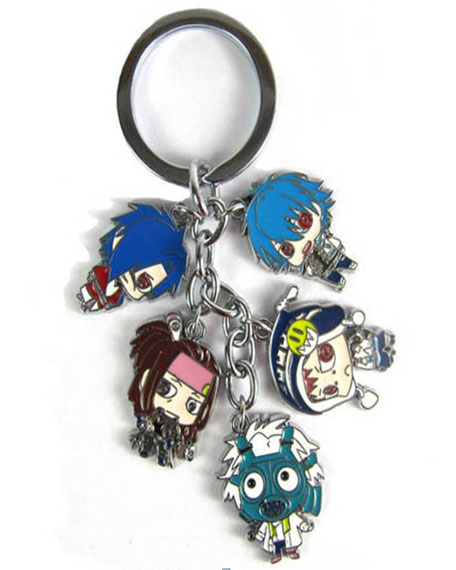 DRAMAtical Murder Keychain Characters