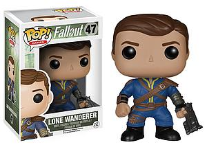 Pop! Games Fallout Vinyl Figure Lone Wanderer Male #47 (Retired)