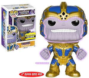 "Pop! Marvel Guardians of the Galaxy Vinyl Bobble-Head 6"" Thanos #78 (Glows in the Dark) Entertainment Earth Exclusive"
