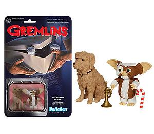 ReAction Figures Gremlins Gizmo with Barney