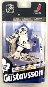 NHL Sportspicks Series 24 Jonas Gustavsson (Toronto Maple Leafs) White Jersey Collector Level Gold Signed