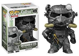 Pop! Games Fallout Vinyl Figure Power Armor (Brotherhood of Steel) #49 (Vaulted)