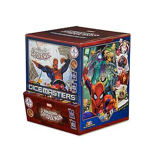Marvel Dice Masters Amazing Spider-Man: Gravity Feed Booster Box (90 packs)