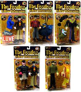 The Beatles Yellow Submarine Series 1 Set of 5s