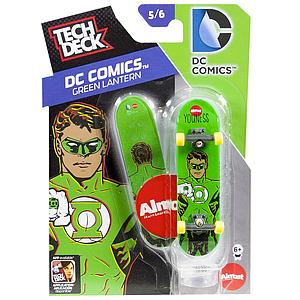 Tech Deck 96mm Fingerboard - DC Comics Green Lantern