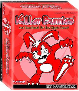 Killer Bunnies and the Quest for the Magic Carrot: Red Booster Deck