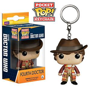 Pop! Pocket Keychain Doctor Who Vinyl Figure Fourth Doctor