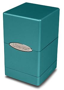 Deck Box Satin Tower: Metallic Ocean Shimmer