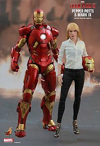 Pepper Potts & Mark IX (MMS311)