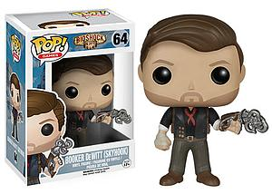 Pop! Games Bioshock Vinyl Figure Booker DeWitt (With Skyhook) #64