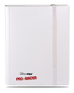 9-Pocket Pro-Binder: White-on-White