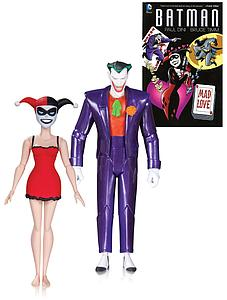 Batman The Animated Series: Joker & Harley Quinn with Mad Love Book