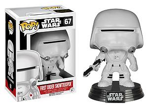 Pop! Star Wars The Force Awakens Vinyl Bobble-Head First Order Snowtrooper #67 (Retired)