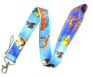 How to Train your Dragon Lanyard Blue