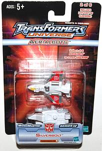 Transformers Universe - Micromaster Series 4 - Aerialbolts Silverbolt