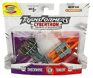 Transformers Cybertron - Mini-Con Class - Tankor vs. Shockwave