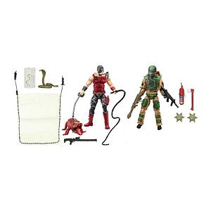 G.I. Joe 50th Anniversary Swamp Team 2-Pack (Blowtorch & Croc Master)