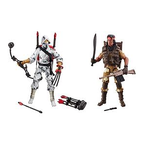 G.I. Joe 50th Anniversary Classic Clash 2-Pack (Spirit Iron-Knife & Storm Shadow)