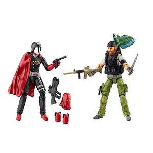 G.I. Joe 50th Anniversary Hunt for Cobra Commander 2-Pack (Shipwreck & Cobra Commander)