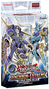 YuGiOh Trading Card Game Structure Deck: Synchron Extreme