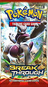 Pokemon Trading Card Game: XY8 Breakthrough Booster Pack