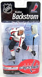 NHL Sportspicks Series 25 Nicklas Backstrom (Washington Capitals) White Jersey Collector Level Silver