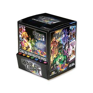 DC Comics Dice Masters War of Light: Booster Box (90 Packs)