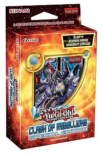 YugioTrading Card Game Special Edition Deck - Clash of Rebellions