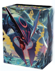 Pokemon Deck Box: Shiny Mega Rayquaza