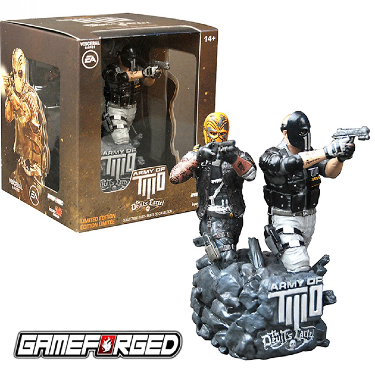 "Army of Two The Devil's Cartel 'Alpha & Bravo' 5"" Bust - Limited Edition"
