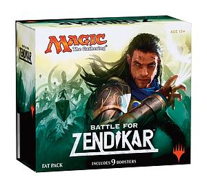 Magic the Gathering: Battle for Zendikar - Fat Pack