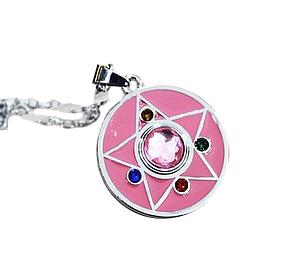 Sailor Moon Necklace Crystal Compact