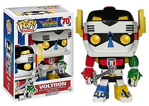 Pop! Animation Voltron Vinyl Figure Voltron #70 (Retired)