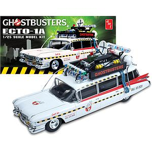 1:25 Scale Model Kit: Ghostbusters Ecto-1A
