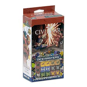 Marvel Dice Masters Civil War Starter Set