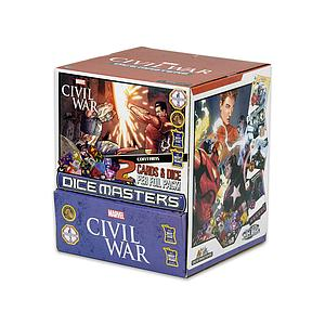 Marvel Dice Masters Civil War Booster Display (90 Packs)