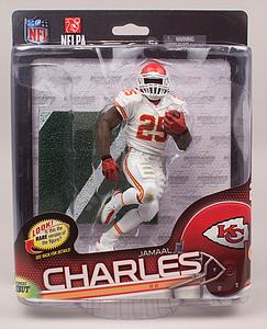 NFL Sportspicks Series 34: Jamaal Charles Gold Collector Level (Kansas City Chiefs)