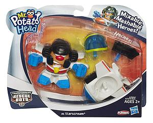 Mr. Potato Head Transformers Rescue Bots Mixable Mashable Heroes Starscream