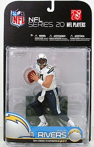 NFL Sportspicks Series 20: Philip Rivers White Jersey Variant (San Diego Chargers)