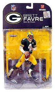 "NFL Sportspicks Series 17: Brett Favre No ""C"" on Jersey Variant (Green Bay Packers)"