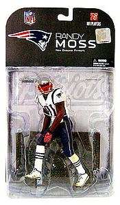 NFL Sportspicks Series 17: Randy Moss Red Arm Band Variant (New England Patriots)