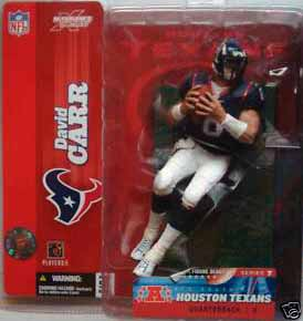 NFL Sportspicks Series 7: David Carr Black Jersey Variant (Houston Texans)