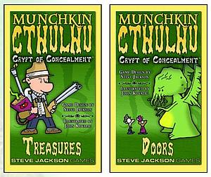 Munchkin: Munchkin Cthulhu Crypts of Concealment