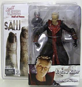 Cult Classics Hall of Fame Saw II Jigsaw Killer Features Puppet & Tricycle