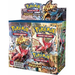Pokemon Trading Card Game: XY9 Breakpoint Booster Box (36 Packs)