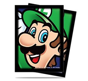 Card Sleeves Standard Size: Super Mario - Luigi 65
