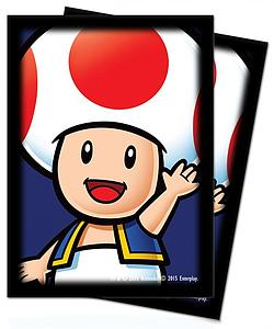 Deck Protectors Super Mario Brothers - Toad 65 Standard Sized Card Sleeves