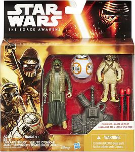 Star Wars The Force Awakens: BB-8, Unkar's Thug & Jakku Scavenger