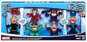 Mr. Potato Head Mixable Mashable Heroes 28 Pieces Marvel Super Hero Assembly Pack